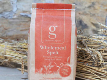 Gilchesters Stoneground Unbleached Strong Wholemeal Spelt Flour Organic