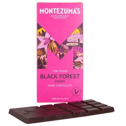 Montezuma's Black Forest Cherry Dark Chocolate
