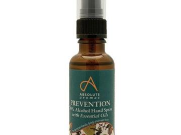 Absolute Aromas Prevention Hand Spray