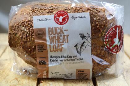 Incredible Bakery Gluten Free Buckwheat Loaf