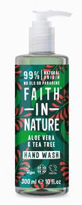 Faith in Nature Aloe Vera & Tea Tree Liquid Soap Handwash