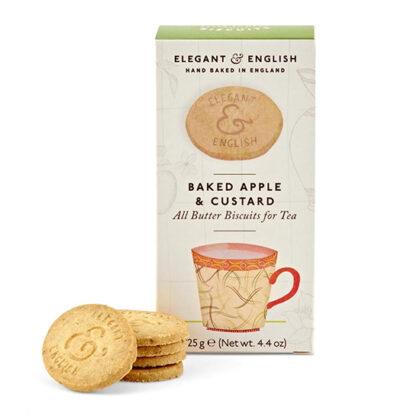 Artisan Elegant & English Baked Apple & Custard Biscuits