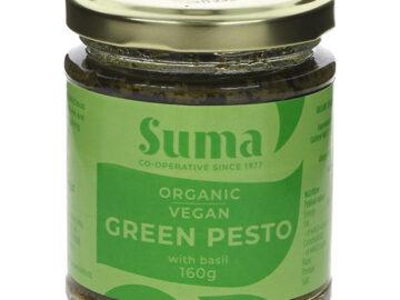 Suma Vegan Green Pesto with Basil Organic