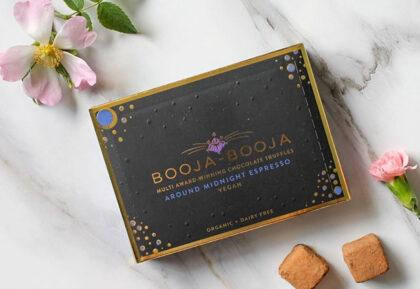 Booja – Booja Multi Award-Winning Chocolate Truffles Around Midnight Esppresso Organic