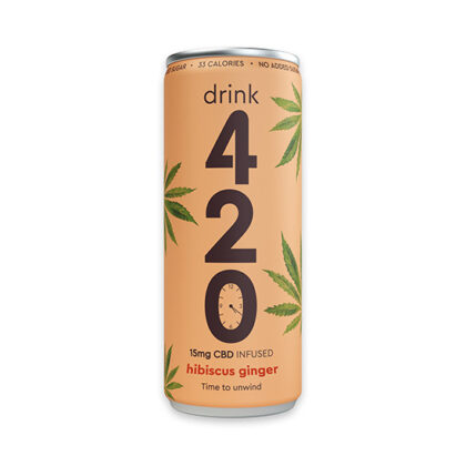 Drink 420 Hibiscus Ginger Drink