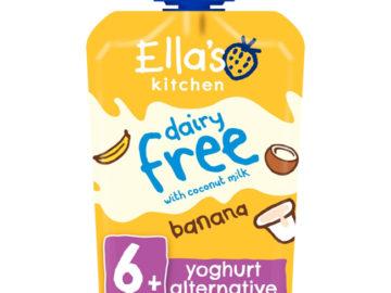 Ella's Kitchen Dairy Free Yogurt Alternative Banana Organic