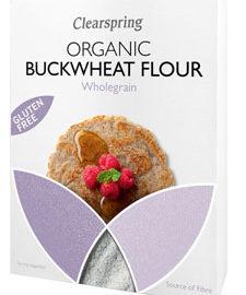 Clearspring Buckwheat Flour Wholegrain Organic