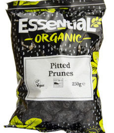Essential Pitted Prunes Organic 250g