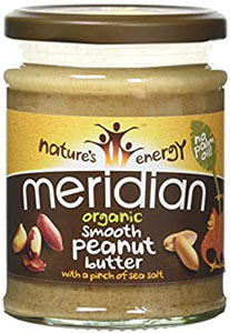 Meridian Smooth Peanut Butter with a pinch of Sea Salt Organic