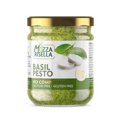 MozzaRisella Vegan Basil Pesto