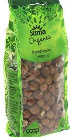Suma Hazelnuts Whole Organic 250g