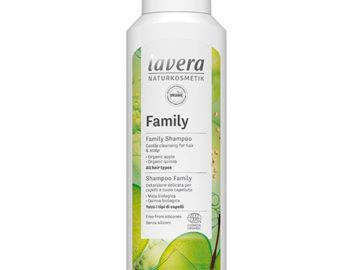 Lavera Family Shampoo Apple Quinoa Organic