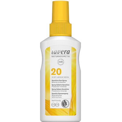 Lavera Sensitive Sun Spray 20 SPF Organic