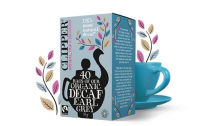 Clipper Decaf Earl Grey 40's Organic
