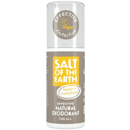 Salt Of The Earth Amber & Sandalwood Natural Deodorant Spray