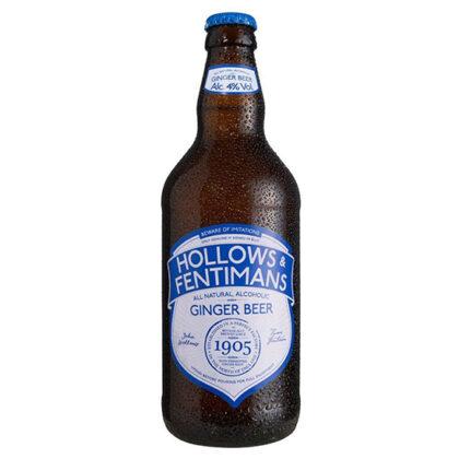 Hollows & Fentimans Ginger Beer 500ml