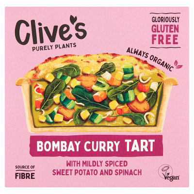 Clive's Bombay Curry Tart Organic