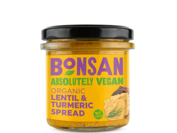 Bonsan Lentil & Turmeric Pate Organic
