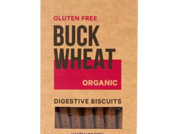 Seggiano Buckwheat Digestive Biscuits Organic