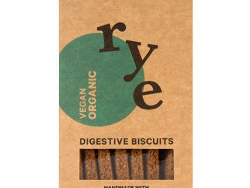 Seggiano Rye Digestive Biscuits Organic