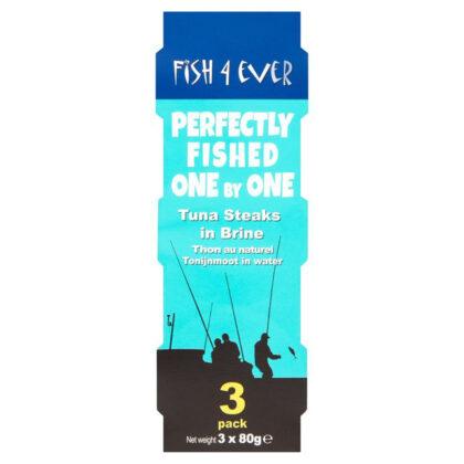 Fish 4 Ever Tuna Steaks in Brine 3 Pack