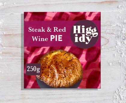 Higgidy Steak & Red Wine Pie