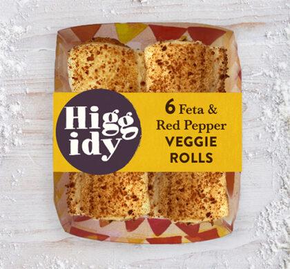 Higgidy Feta & Red Pepper Veggie Rolls