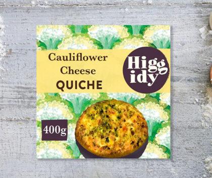 Higgidy Cauliflower Cheese Quiche