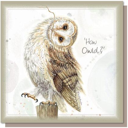 'How Owld?' Greetings Card