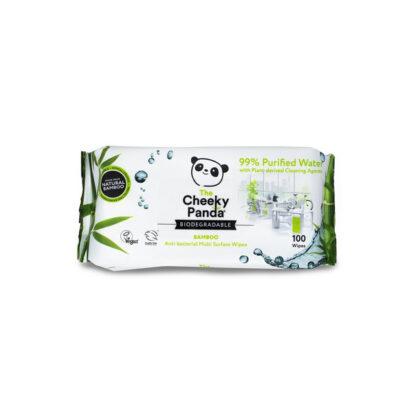 The Cheeky Panda Bamboo Anti-bacterial Multi Surface Wipes