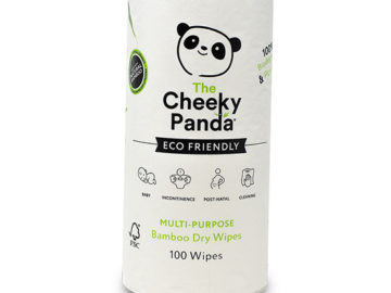 The Cheeky Panda Multi-Purpose Bamboo Dry Wipes