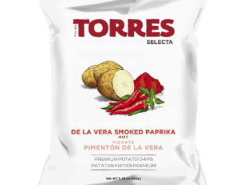 Torres Selecta Smoked Paprika Premium Potato Chips