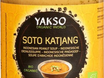 Yakso Soto Katjang Indonesian Peanut Soup