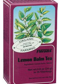 Floradix Lemon Balm Tea Organic