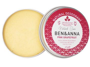 Ben & Anna Pink Grapefruit Natural Deodorant