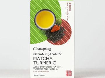 Clearspring Matcha Turmeric Tea Organic