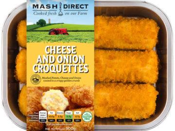 Mash Direct Potato Cheese & Onion Croquettes