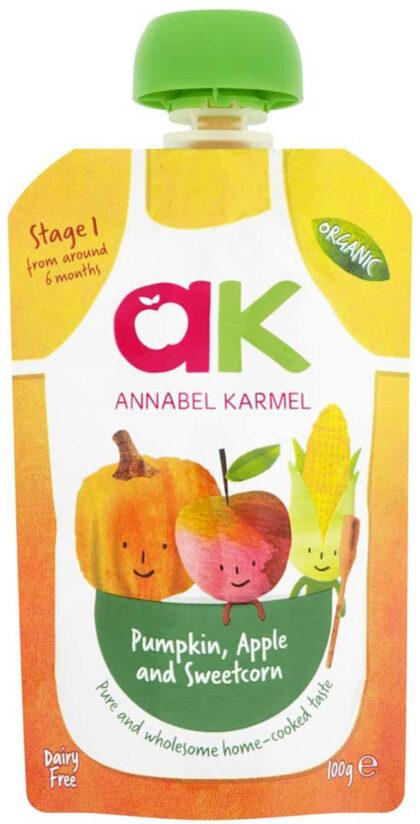 Annabel Karmel Pumpkin Apple Sweetcorn Organic