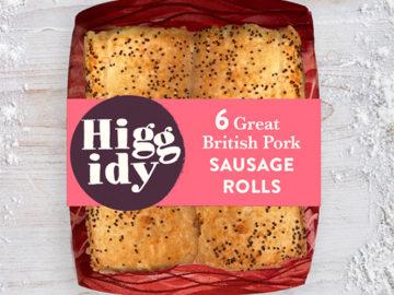 Higgidy Great British Pork Sausage Rolls