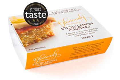 The Cotswold Pudding Company Sticky Lemon Pudding 500g