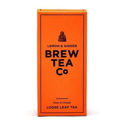 Brew Tea Co Lemon & Ginger Loose Tea