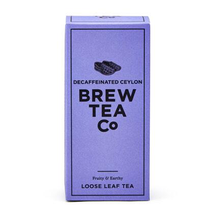 Brew Tea Co Decaffeinated Ceylon Loose Leaf Tea