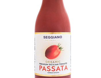 Seggiano Sicilian Single Estate Premium Tomato Passata Organic 500g