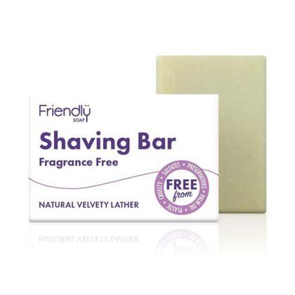 Friendly Shaving Bar Fragrance Free