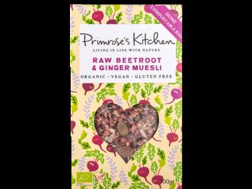 Primrose's Kitchen Raw Beetroot Ginger Muesli