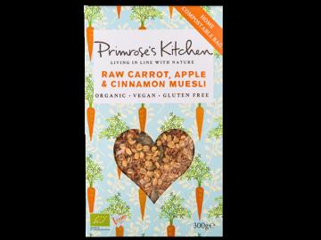 Primroses's Kitchen Carrot Apple Cinnamon Muesli