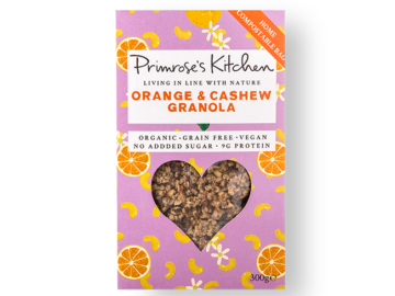 Primrose's Kitchen Orange Cashew Granola