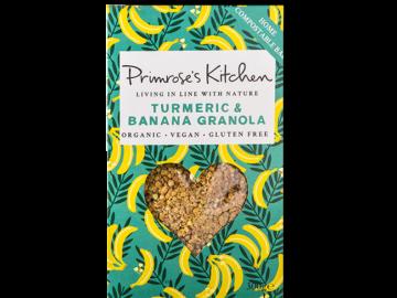 Primrose's Kitchen Banana Turmeric Granola