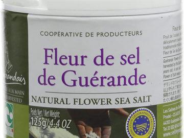 Fleur De Sel De Guerande, Natural Flower Sea Salt