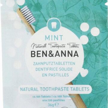 Ben & Anna Toothpaste Tablets Mint Fluoride-Free